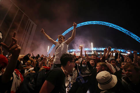 England ordered to play two games without fans over Wembley chaos