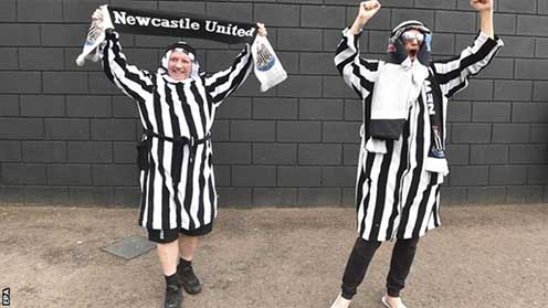Newcastle United owners change stance on traditional Arabic clothing at games