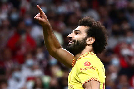 Salah's double helps Liverpool beat Atletico 3-2 in Champions League as Griezmann sees red