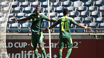 Africa's number 1, Senegal, truly number1! First to get into World Cup qualifying final play offs