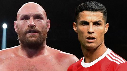 Tyson Fury warns  Ronaldo after dismantling Wilder: 'this town ain't big enough for the both of us!'