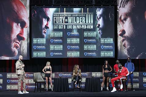 Furious Fury promises to knock out Wilder in heated press conference ahead of trilogy fight