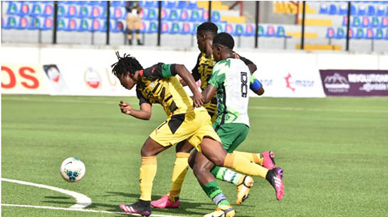 On 70th anniversary of beginning of Nigeria-Ghana soccer rivalry, Falcons beat Ghana's Black Queens