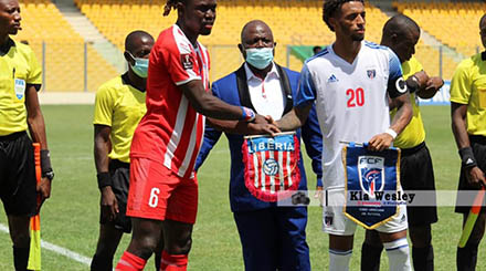 Nigeria's next World Cup qualifying opponents, Liberia lose hopes
