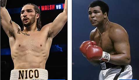 Like grandfather; like grandson! Mohammad Ali's grandson turns knockout specialist