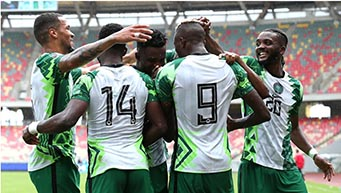 Super Eagles make top five ranking ahead of World Cup qualifying final draw