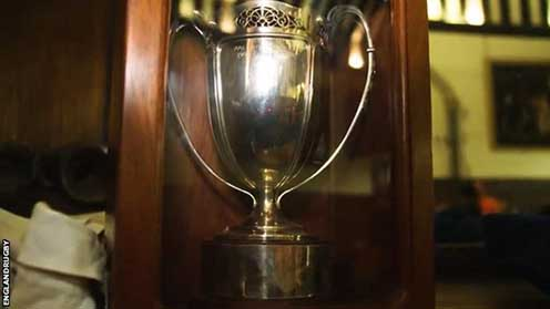 Missing Women's Rugby World Cup trophy found in attic after 15 years