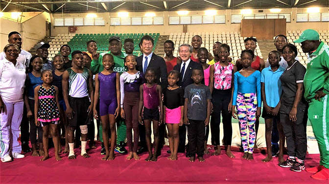 Japanese Government offer Nigerian gymnasts scholarships
