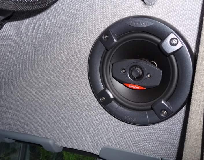T1N Audio Upgrades: better Speakers - Sprinter Camper