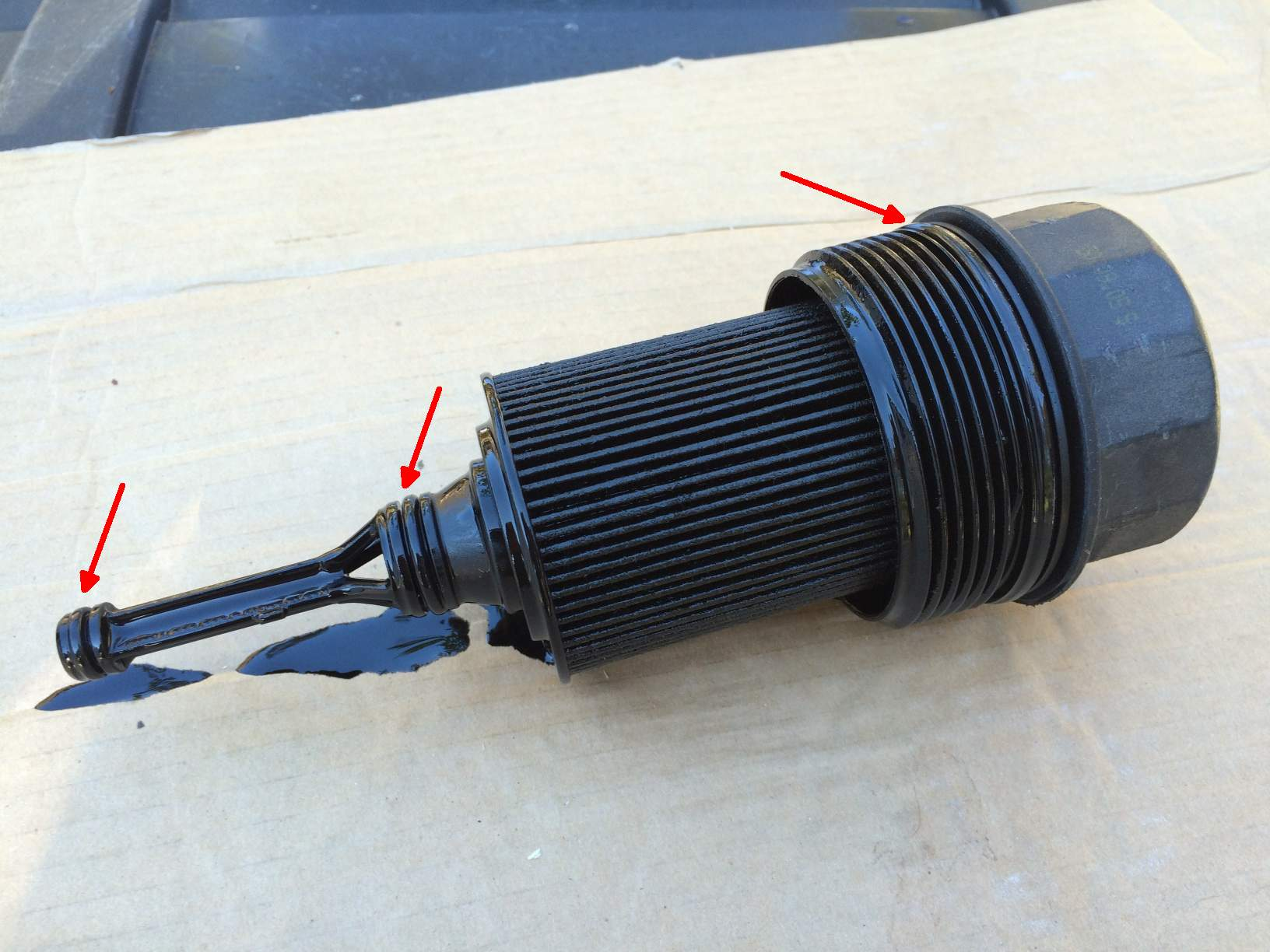 Mercedes C Oil Filter