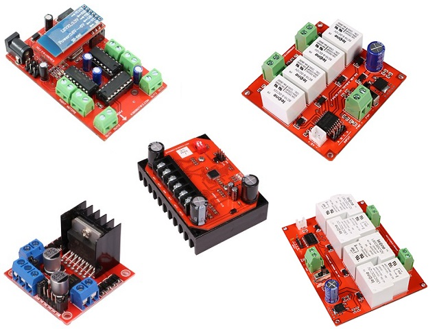 Choosing the right motor-driver   SP Robotic Works