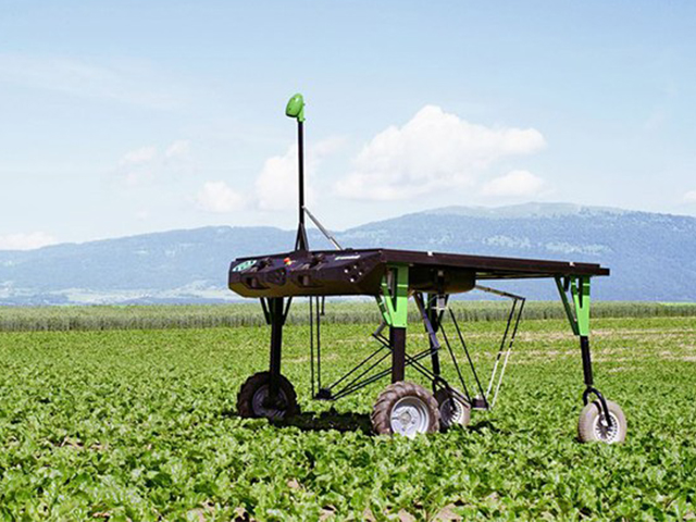 Farming using Robotics is the future.Look at this weeding Robot.   SP  Robotic Works