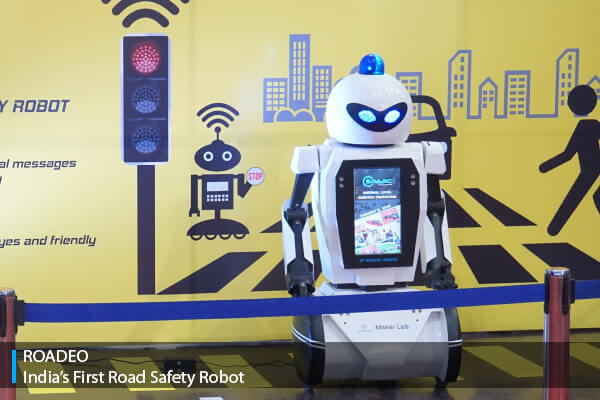 Roadeo - India's First Traffic Robot