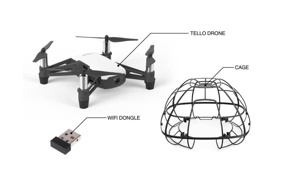 Drone Kit Unboxing - Products and Accessories required to learn, build and code a Drone