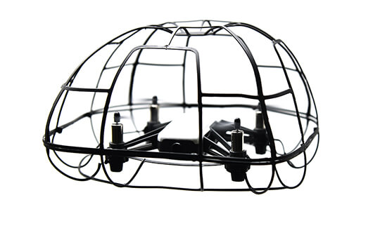 Drone with cage