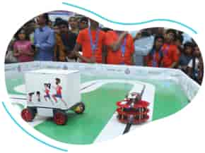 Line Tracer Robot in Self Driving Robot Competition