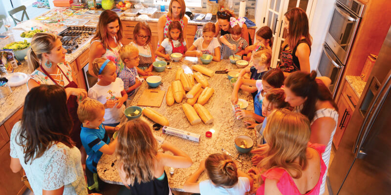 Cooking summer camp