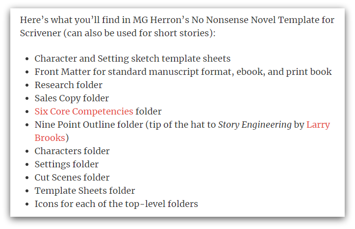 Scrivener Templates You Can Use [Download Here]