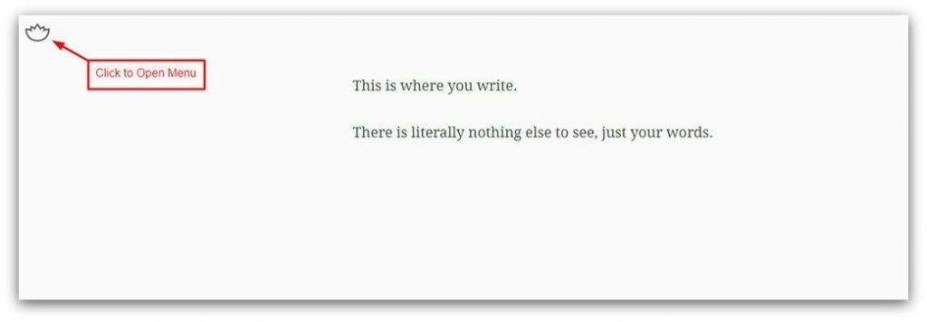 calmly writer writing tool