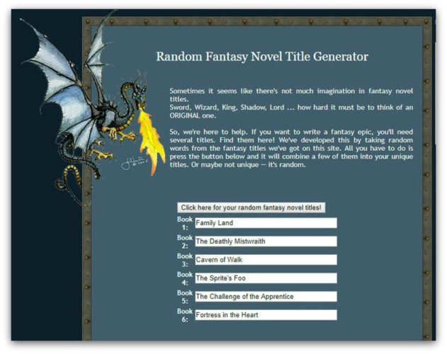 Book Title Generator: Best 21 Free Book Name Generators [List]