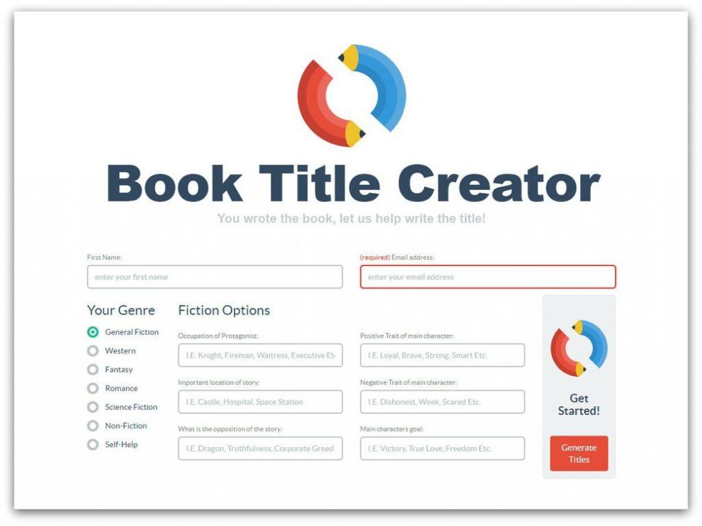 book title generators