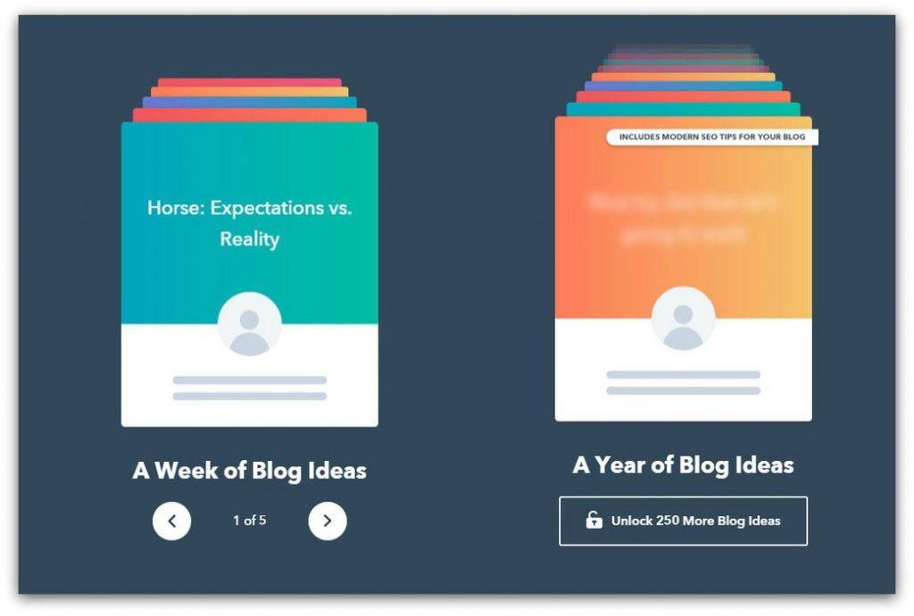 hubspot writing tool