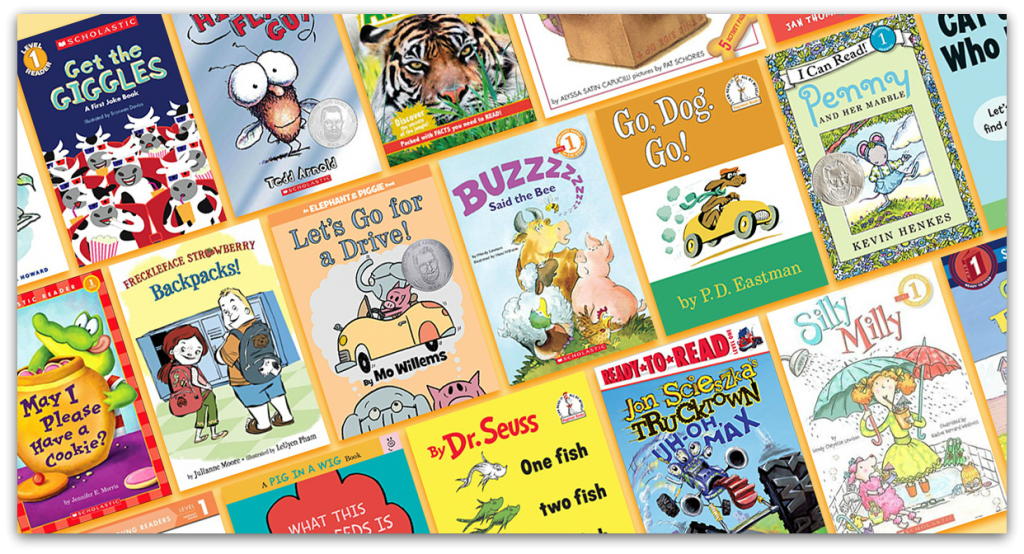 children's early reader book examples
