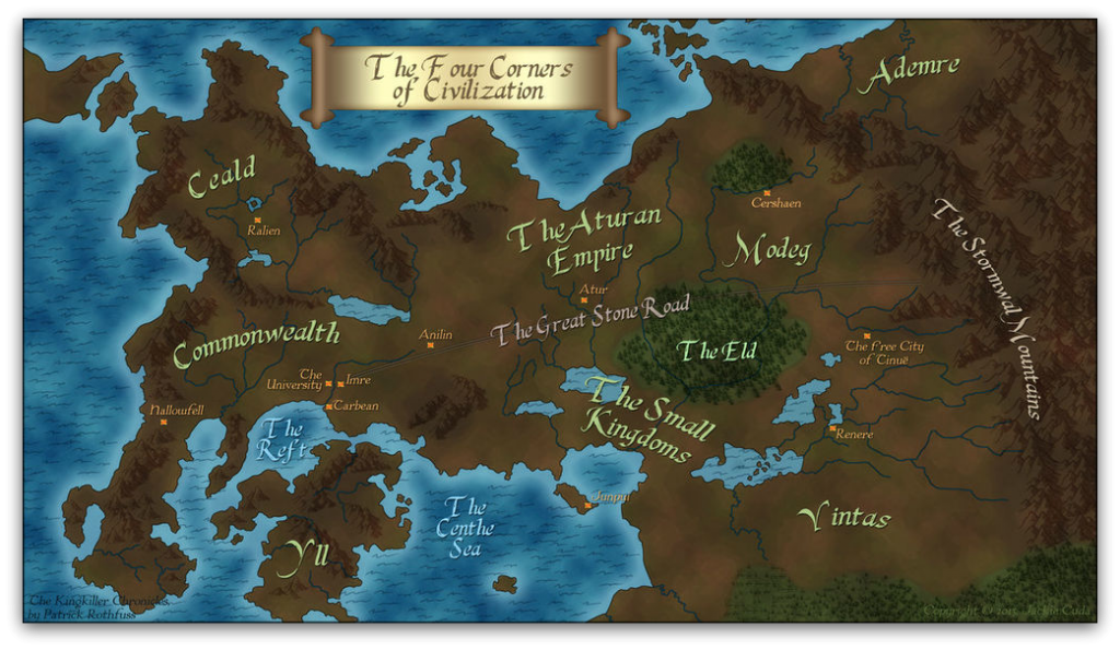 Temerant map