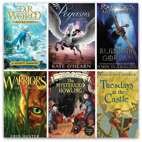 children's middle grade books examples