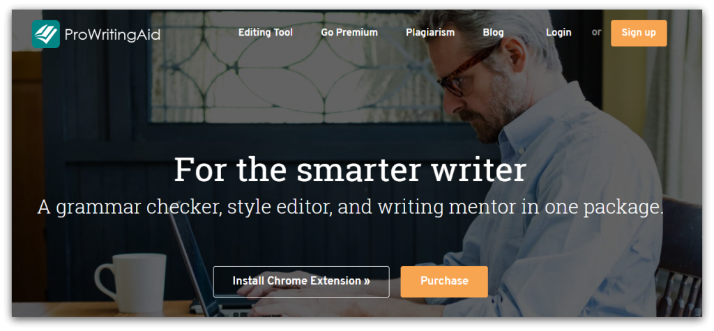 prowritingaid homepage screenshot