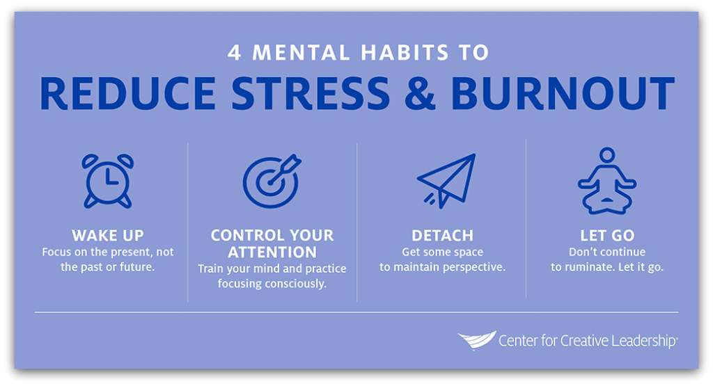 4 tips to reduce stress and burn out