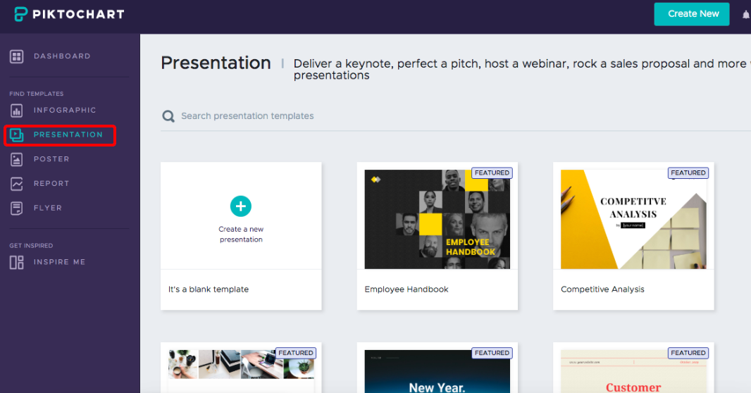 What is Presentation format? - Piktochart Knowledge Base