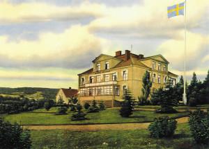 Gamal bild av Stiftelsen Skaraborgs Läns Sjukhems hus