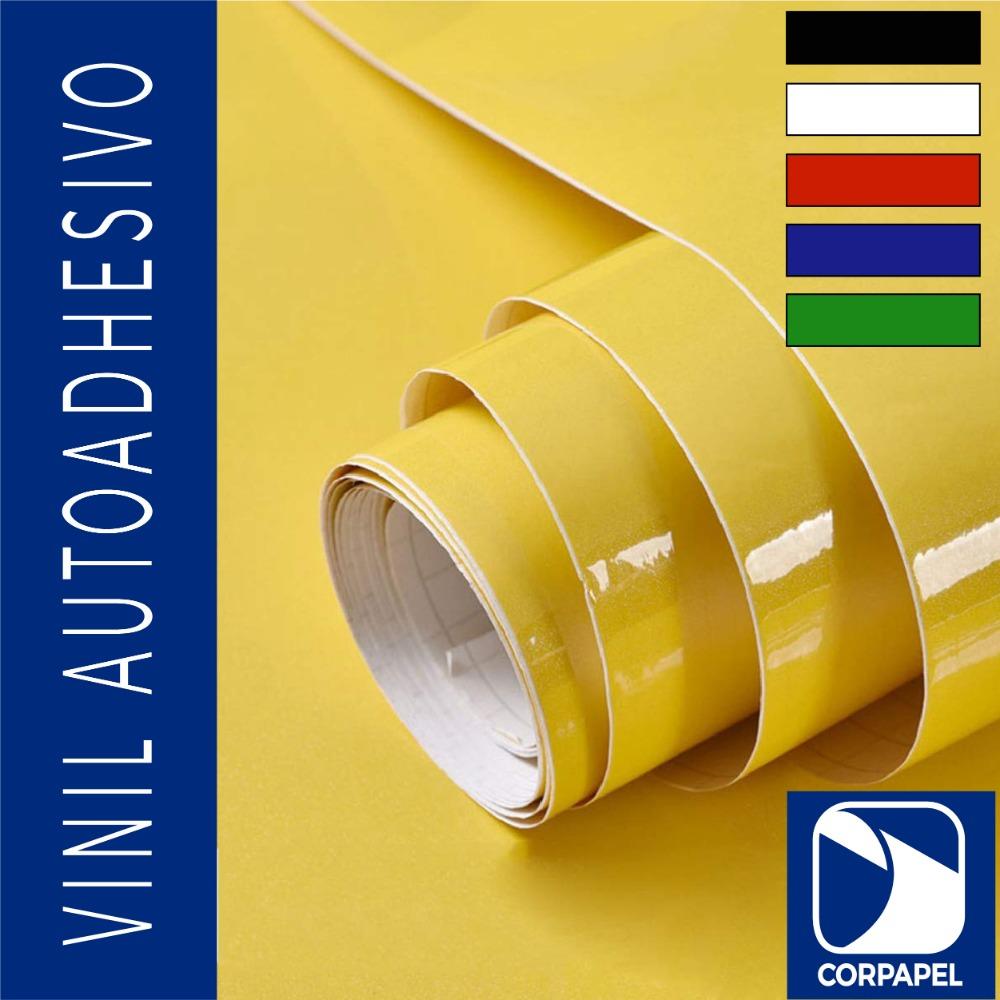 Vinil Adhesivo Brillante Amarillo