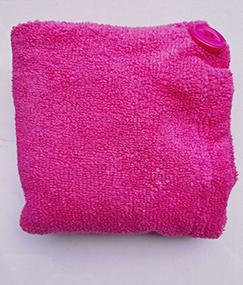 Turbante de Microfibra Niñas Fucsia