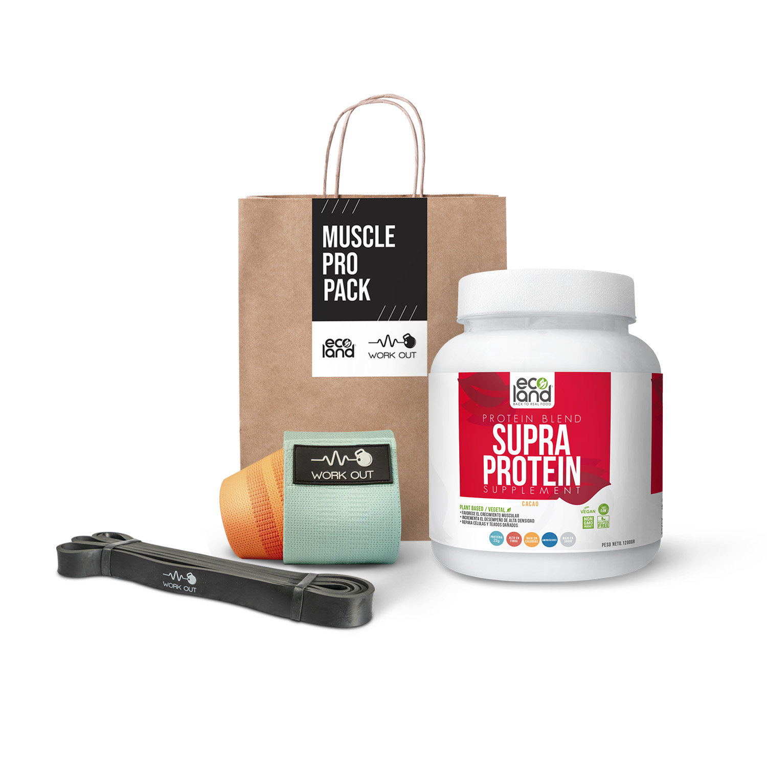 MUSCLE PRO PACK - CACAO