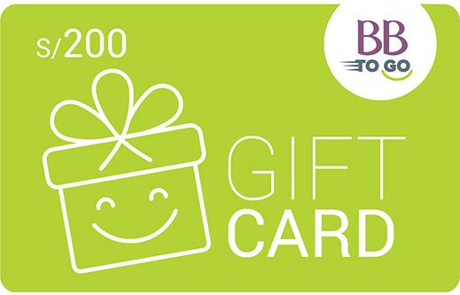 GIFT CARD S/200 VERDE