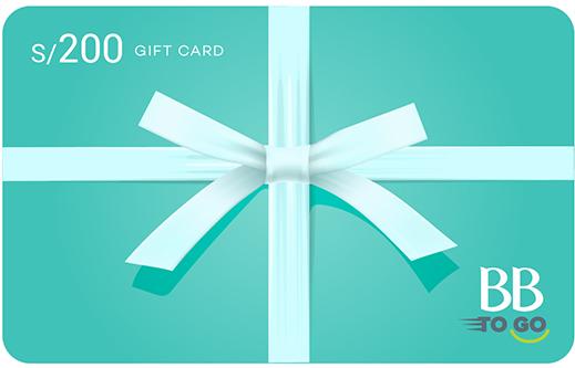 GIFT CARD S/200 AZUL