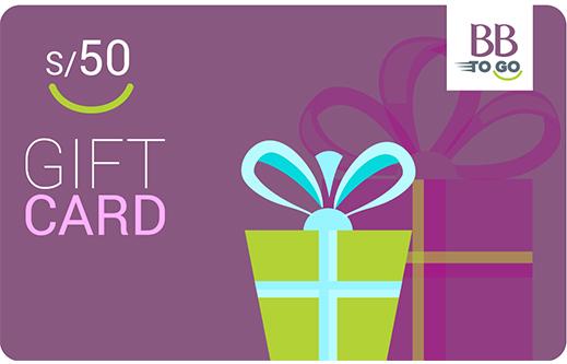 GIFT CARD S/50 MORADO