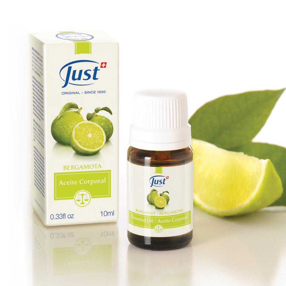 Swiss Just Aceite Esencial de Bergamota 10 ml
