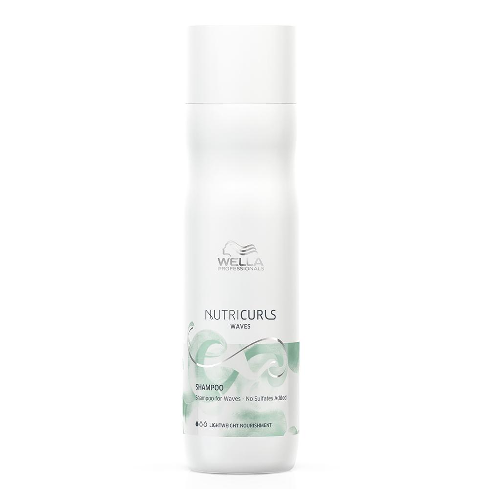 Shampoo Wella Nutricurls Shampoo Para Ondas 250 ml