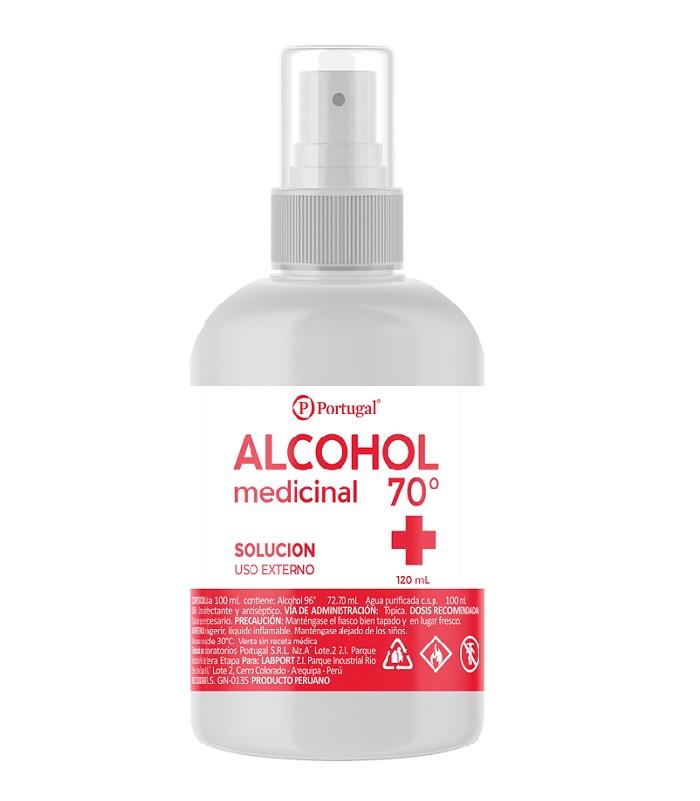 ALCOHOL 70º 120 ML C/ATOM