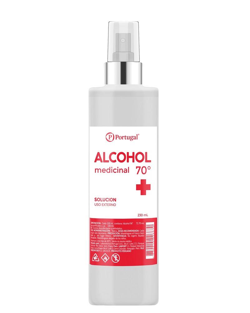 ALCOHOL 70º 230 ML C/ATOM