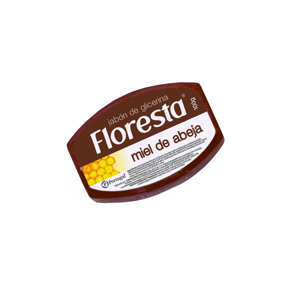 Jabón con Extracto de Miel De Abeja x 100g Floresta