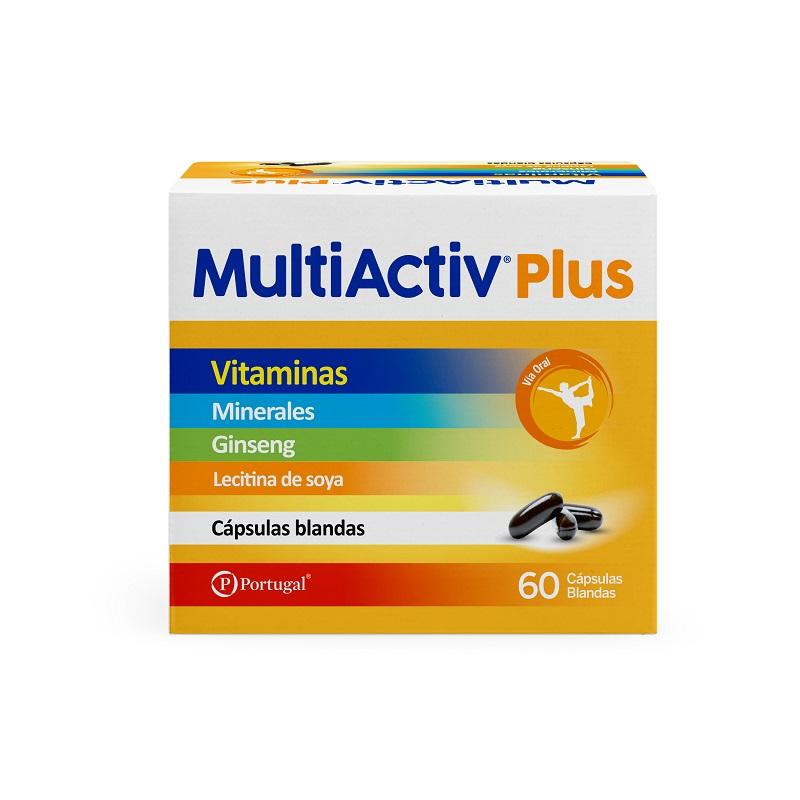 MULTIACTIV PLUS CAPSULAS BLANDAS C/60
