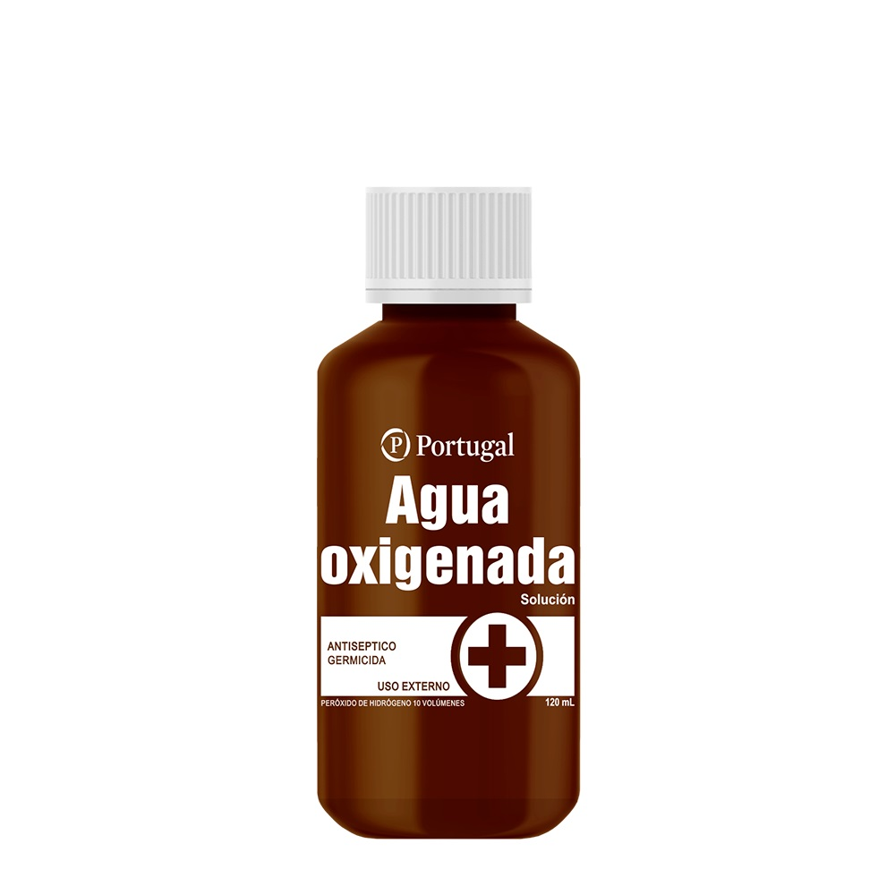 AGUA OXIGENADA 10 V 120 ML PLAST