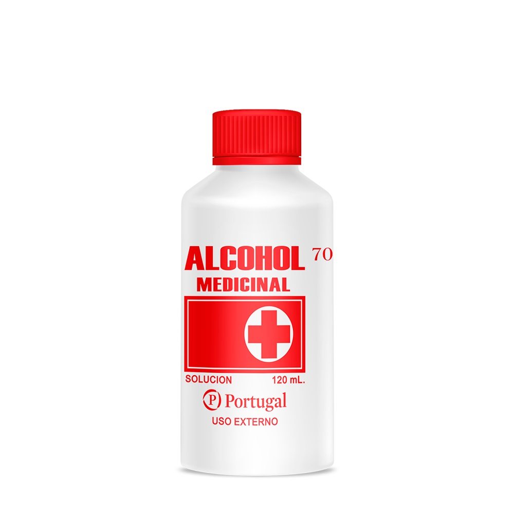 ALCOHOL 70º 120 ML
