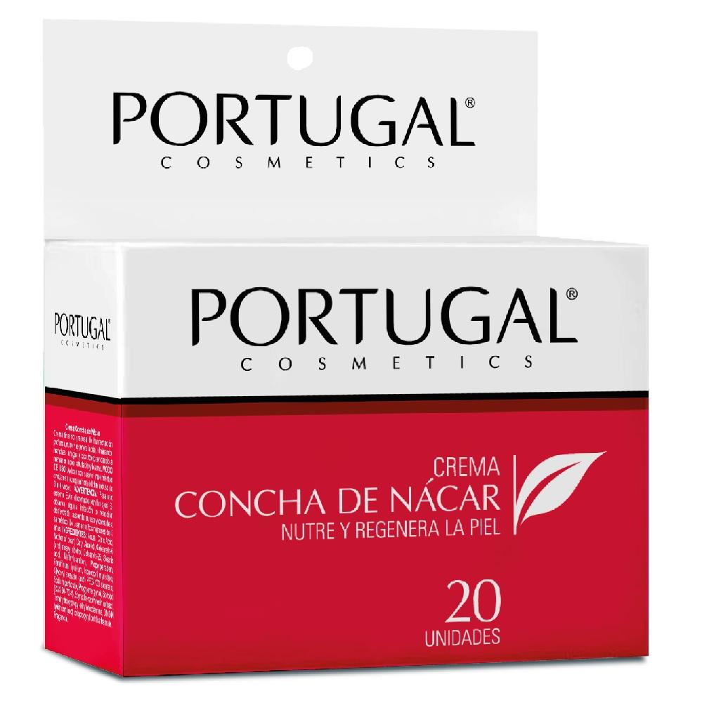Crema Concha de Nácar 20 sachets de 10g Portugal Cosmetics
