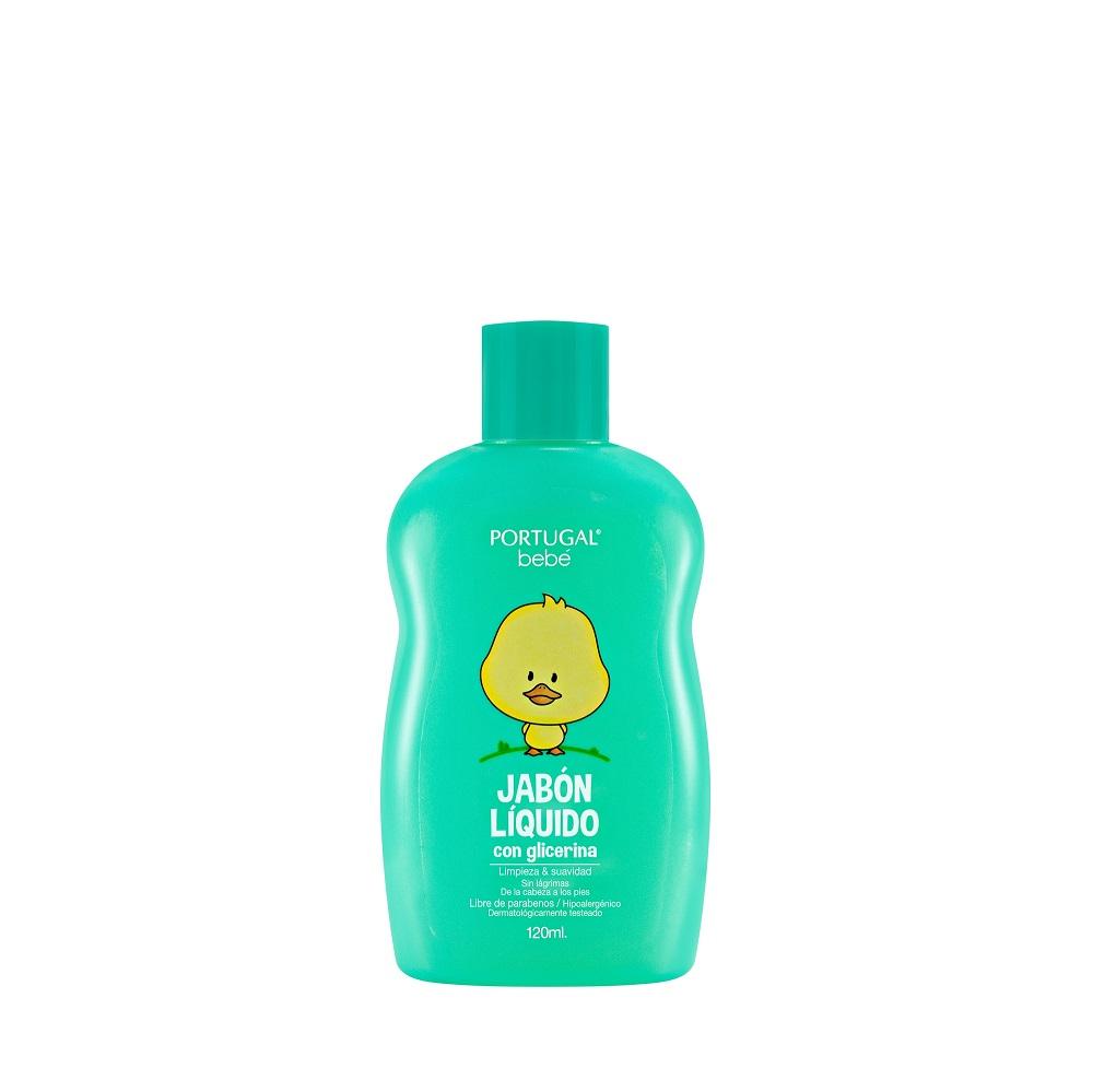 Jabón Líquido para Bebés 120ml Portugal Bebé