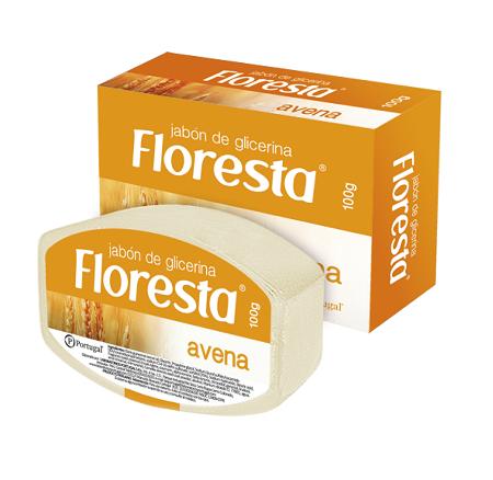 Jabón con extracto de Avena x 100g Floresta